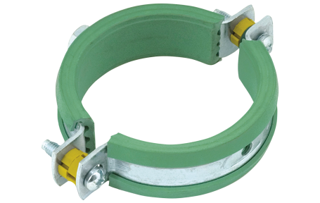 Green Rubber-lined Clips (M10)
