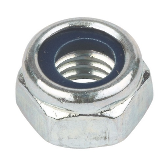 BZP Nylon Insert Lock Nuts