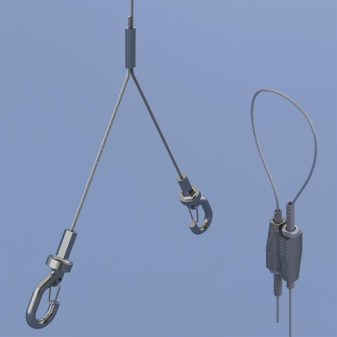 Y Hook with Wire Lock