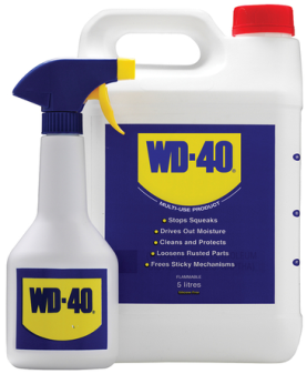 WD40 5ltr with Spray Applicator