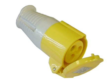 110v Yellow Socket