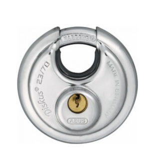 Discus Stainless Steel Padlock