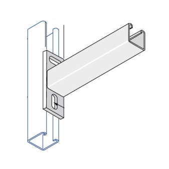 Cantilever Arms Single Channel
