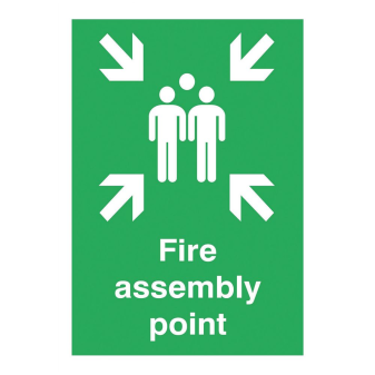 Assembly Point Sign (E339A-R)