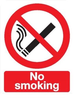 No Smoking Sign (P01T/R)