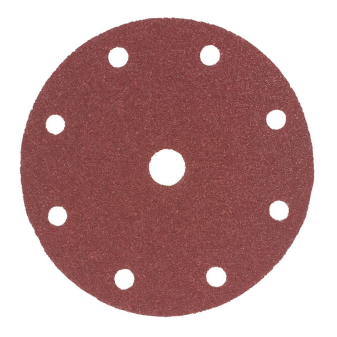 Velcro-Backed Sanding Discs - 9 Hole