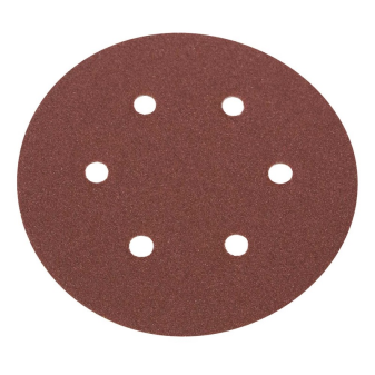 Velcro-Backed Sanding Discs - 6 Hole