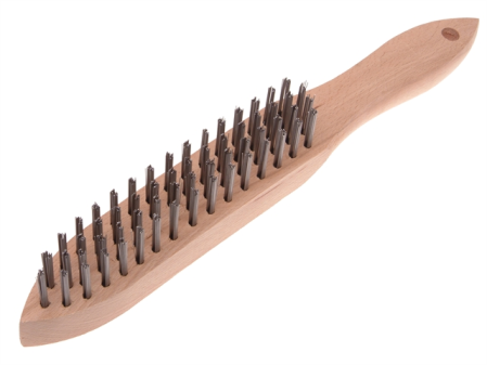 4 Row, Steel Wire Brush