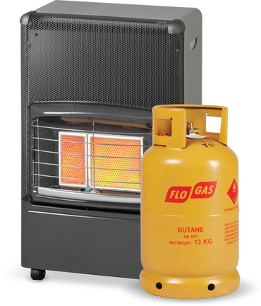 Superser F150 Radiant Portable Heater with Gas Cylinder