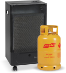 FG15 Mini Catalytic with gas cylinder
