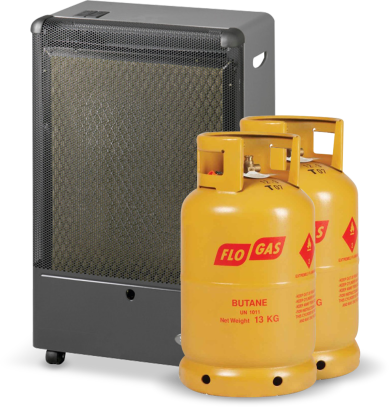 Superser F250 Catalytic Portable Heater with 2 Gas Cylinders