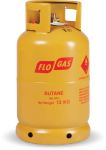 13kg Butane Gas Cylinder (21mm Clip on Regulator)