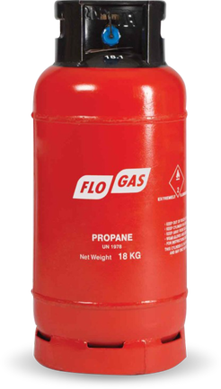 18kg FLT Propane Gas Cylinder (Screw Fit)