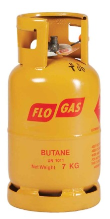 7kg Butane Gas Cylinder (21mm regulator)