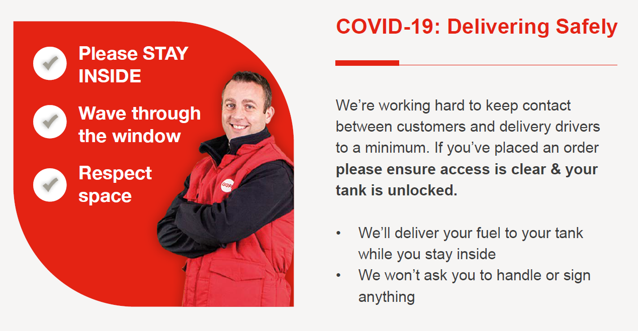 Covid 19 Delivering Safely
