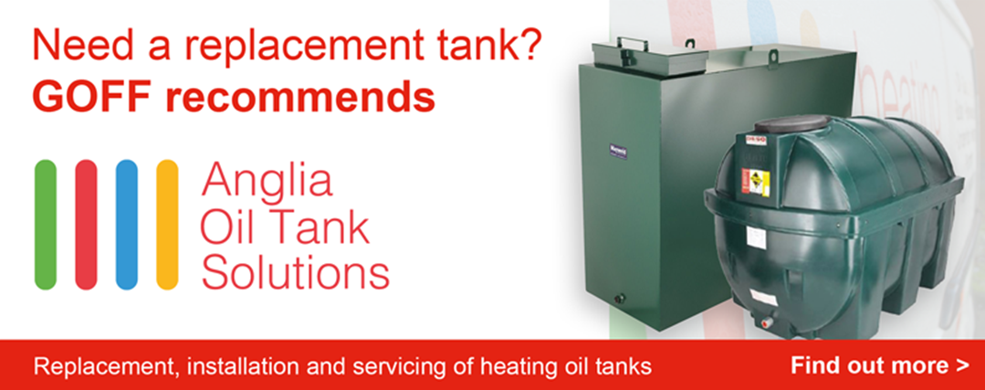 Goff Heating Oil recommend Anglia Oil Tank Solutions