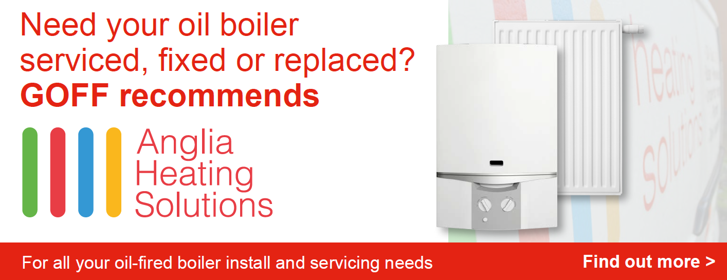 Goff Heating Oil recommend Anglia Heating Solutions