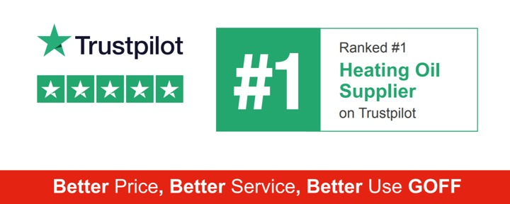 Ranked Number 1 Heating Oil Supplier on Trustpilot