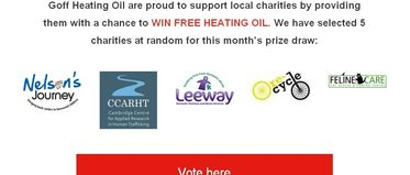 Voting Opens - It's time to choose your favourite charity