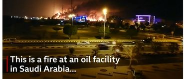 Major attack on oil processing facilities in Saudi Arabia