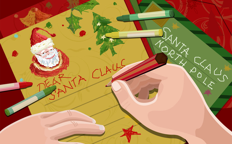Letters to Santa reveal what kids really want this Christmas