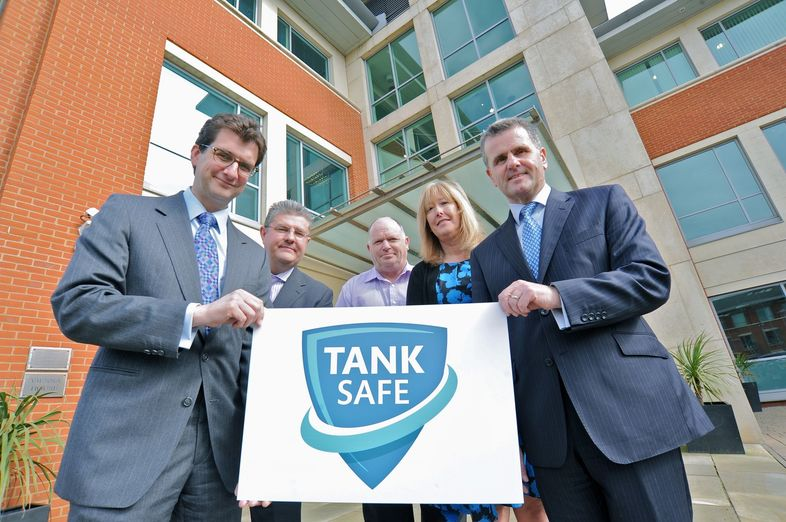 "Goff Heating Oil supports OFTEC and FPS ""Tank Safe"""