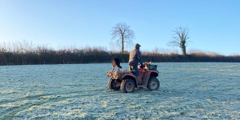 Tim-on-quad-in-frosty-field