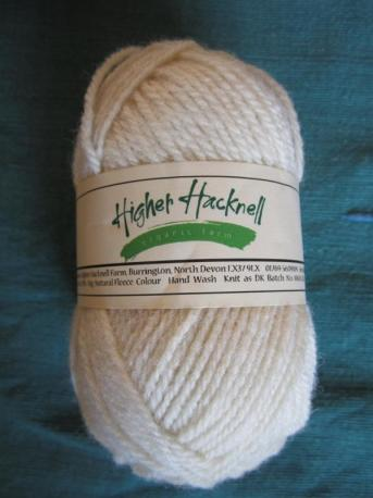 Organic Lleyn Wool fibre - natural white
