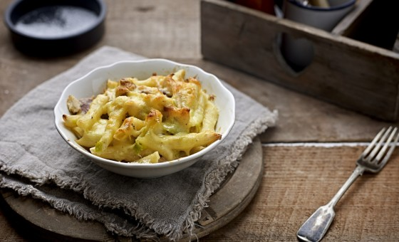 Organic Chicken, Leek & Bacon Pasta - serves one