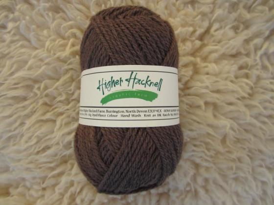 Organic Lleyn Wool - Brown