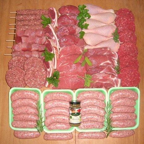 Barbecue Organic Meat Box