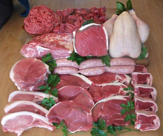 Medium Organic Mixed Meat Box