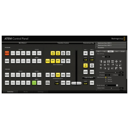 Blackmagic Design ATEM 2 Broadcast Panel