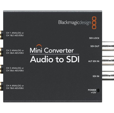 Blackmagic Design Audio to SDI Mini Converter