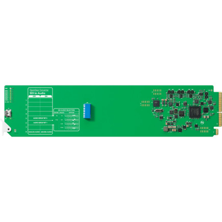 Blackmagic Design OpenGear SDI - Audio Card