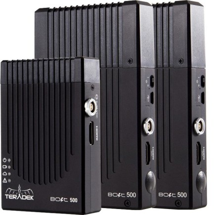 BOLT 500 HDMI VIDEO 2 X RX TRANSCEIVER SET
