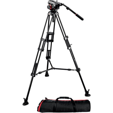 MIDI 546B TWIN LEG TRIPOD | 504HD VIDEO HEAD
