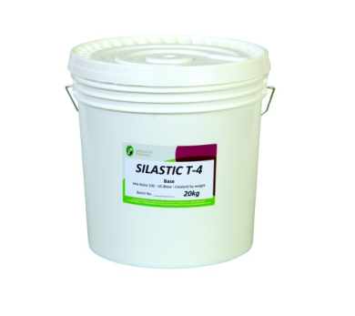 Silastic T-4 Clear Silicone (Base & Cure)