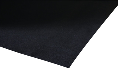 Black Baize Self Adhesive 625mm wide