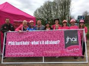 jhai's Northampton team at the Crazy Hats annual sponsored walk 2017