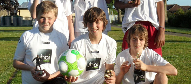 END OF SEASON AWARDS FOR jhai FOOTBALLERS