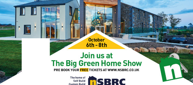 We're at The Big Green Home Show
