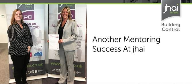 Another Mentoring success at jhai