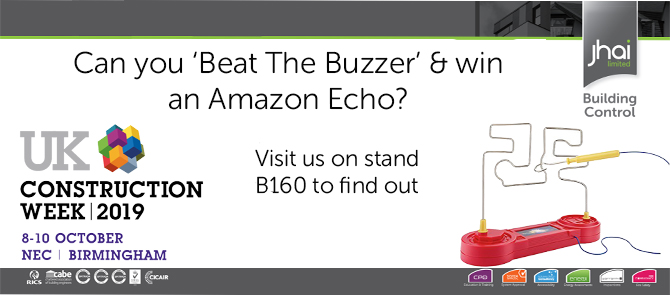 Win an Amazon Echo at UK Construction Week