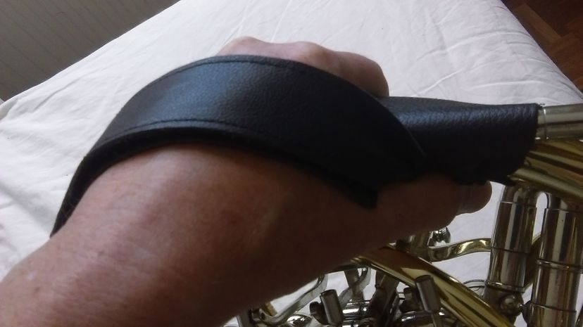 Boadicea French Horn Holding Strap Step 5
