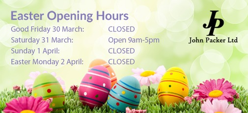 Easter 2018 Opening Hours
