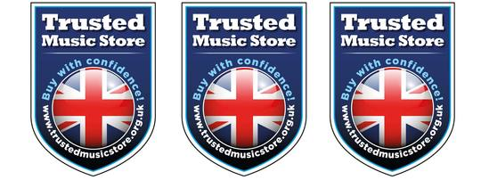 John Packer Ltd awarded 'Trusted Music Store' accreditation