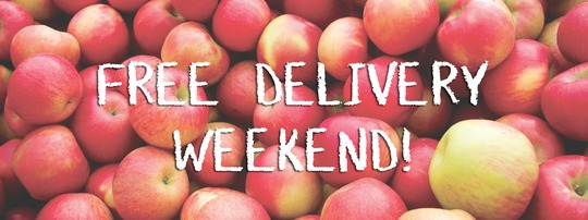 FREE Delivery Weekend!