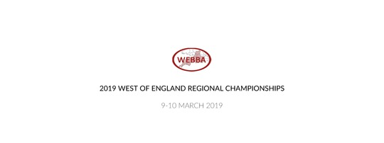2019 West of England Regional Championships
