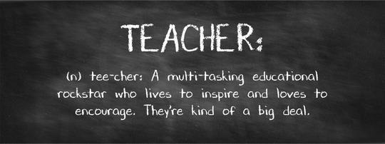 Say thanks to your teacher!